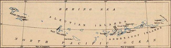 Archipel des îles Aléoutiennes