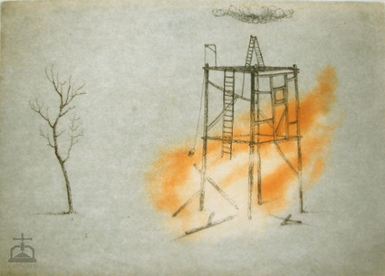 Couleurs, Architecture en flammes