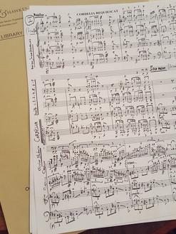 Musique de scène de Jacques Boisgallais pour quatuor à cordes