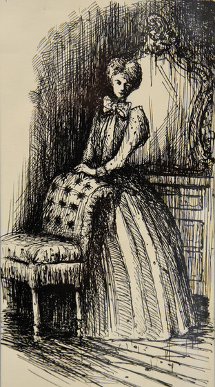 La Comtesse dans PAUVRE BLAISE