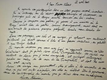 Lettre du poète au photographe, 2005