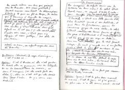Manuscrit autographe de RICERCARE d'Olivier Dhénin