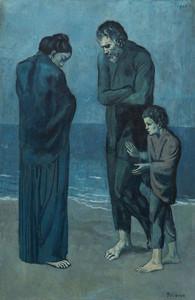 Les Pauvres au bord de la mer de Picasso