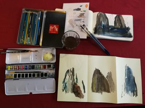 Along Watercolours...