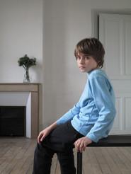 Mario Boucheron qui fut Sophian Lazarus enfant dans CENDRES dans la mise en scène de l'auteur en 2010