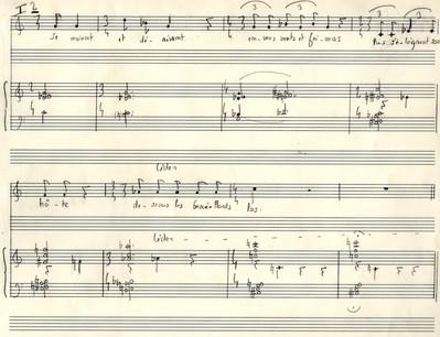 Mare Tranquilitatis, mélodie de Michaël Sébaoun