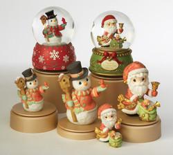 Santa Snowman Collections Prepack