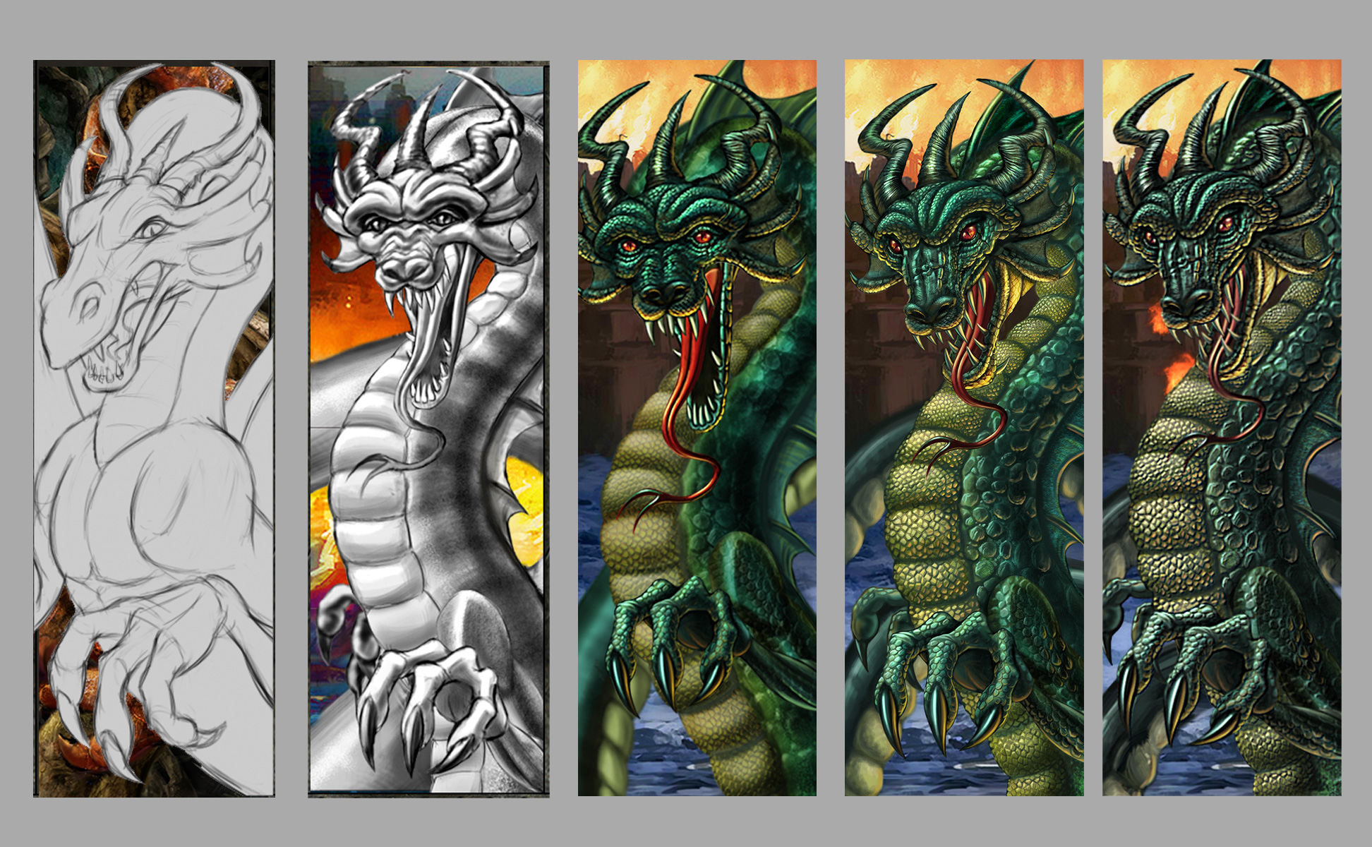 Dragon development process