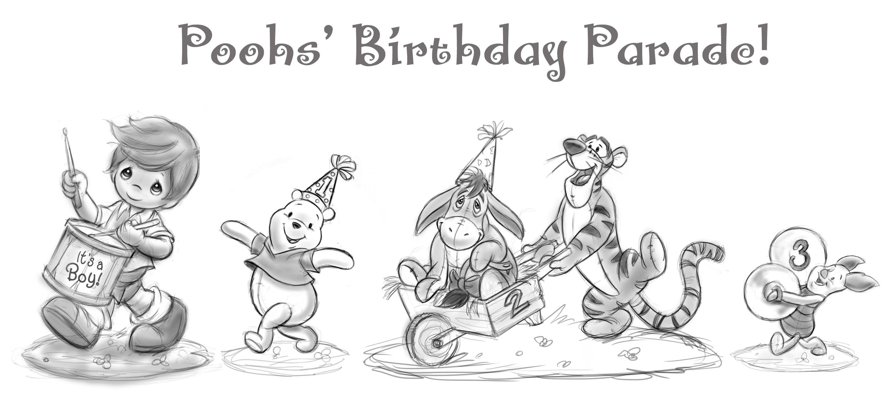 Poohs' Birthday Parade