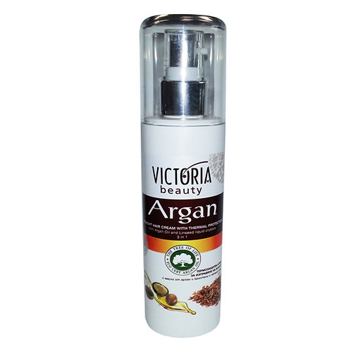 Straight Hair Cream/Thermal Protection & Argan Oil & Linseed liquid crystals
