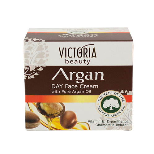 Day face cream with Pure Argan Oil