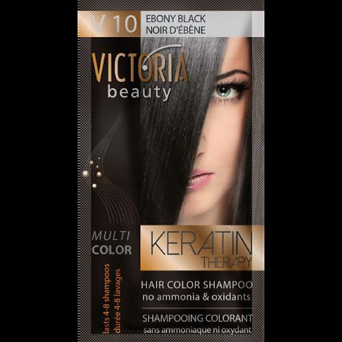 EBONY BLACK - VB10 Hair color shampoo