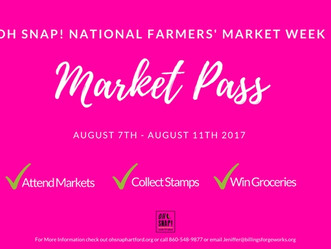 Get Market Pass, Visit Markets, Collect Stamps, Win $40.00 of Groceries