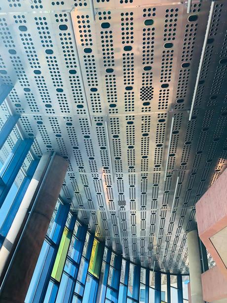 Globe-News Center Ceiling