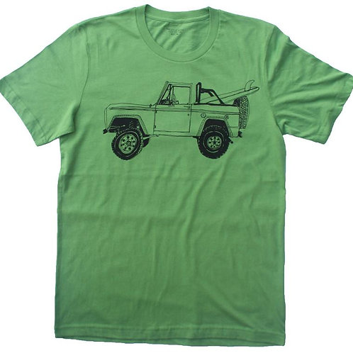 Bronco Surf Trip Leaf Green Tee
