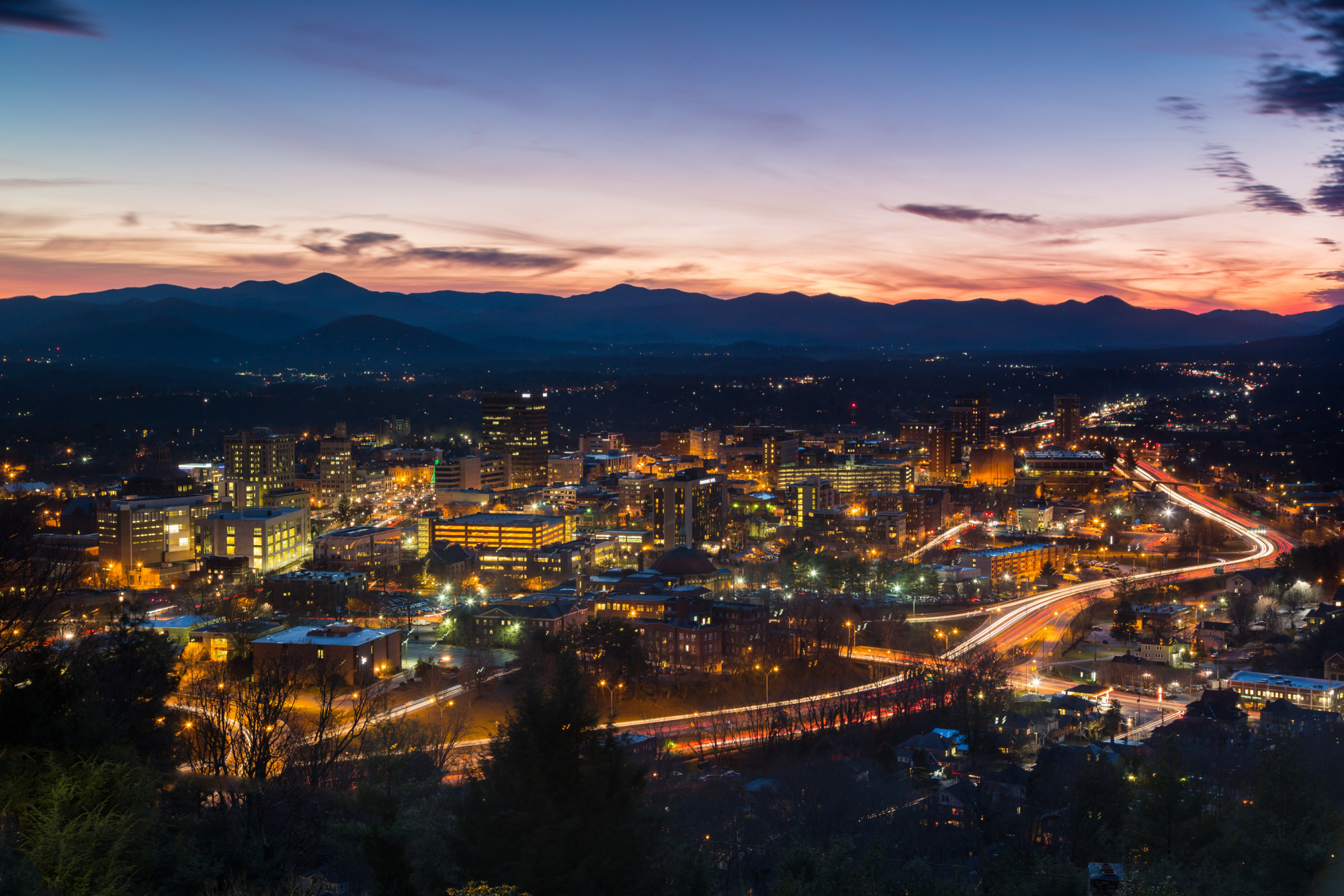 asheville-at-night