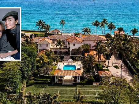 Palm Beach Estate Once Owned by John Lennon Under Contract