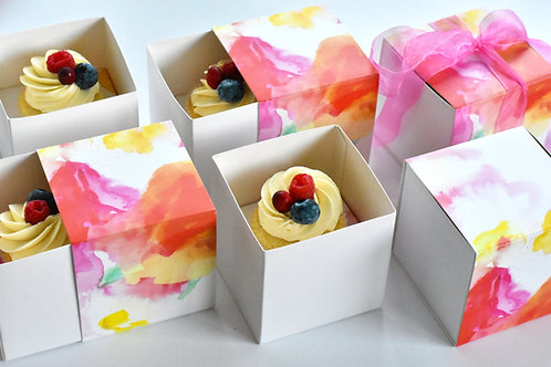 Cupcakes w/ Gift Boxes