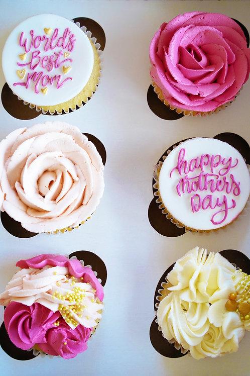 Mother's Day Cupcakes - 1/2 Dozen