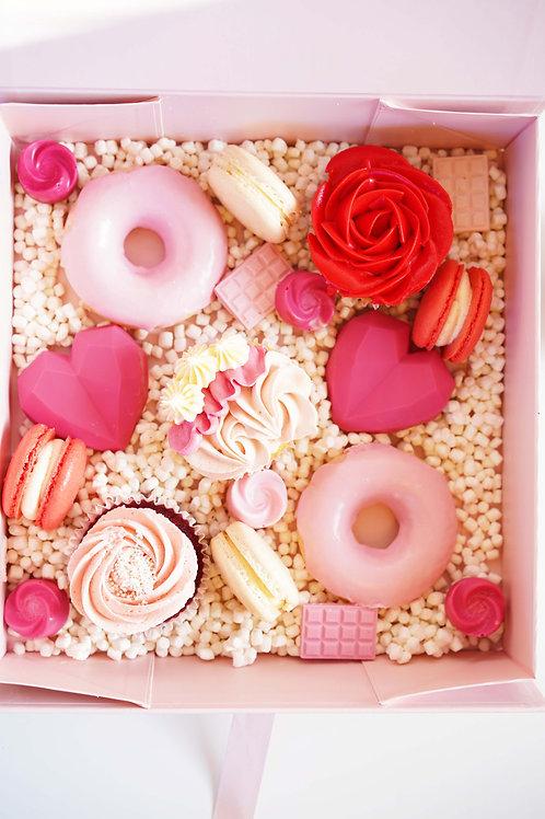 Valentine's Day Ultimate Treat Box w/Keepsake Box