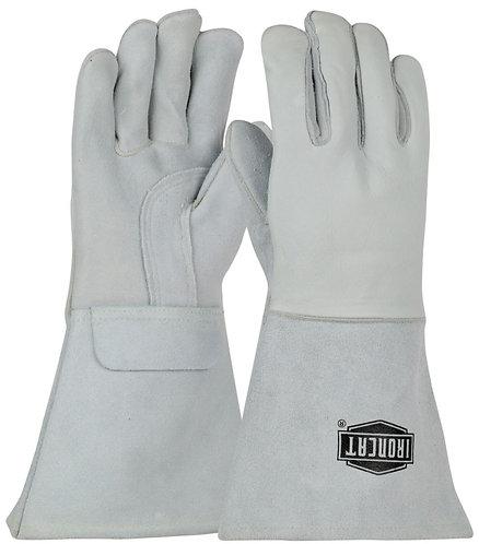 """Ironcat® Top Grain Elkskin Leather 14"""" Welder's Glove 9061"""