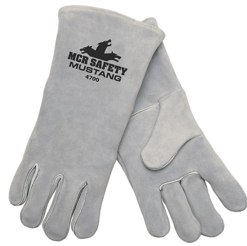MCR Mustang™ Leather Welding Work Gloves; 4700