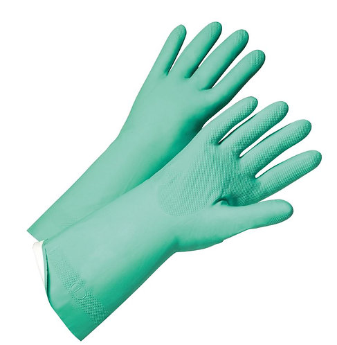 West Chester PosiGrip Unsupported Nitrile, Flock Lined Glove; 52N103