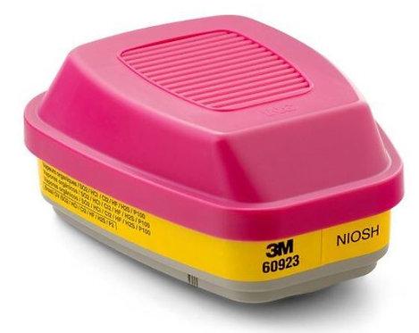 3M™ Organic Vapor/Acid Gas Cartridge/Filter P100; 60923