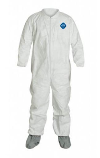 Dupont Tyvek Coverall w/ Boots; TY121S