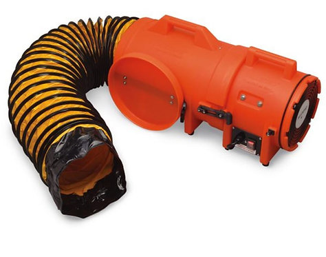 Allegro 8″ Axial AC Plastic Blower w/ Compact Canister & Ducting