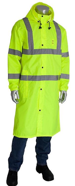 "PIP Viz Class 3 Value All Purpose 48"" Raincoat; 353-1048"