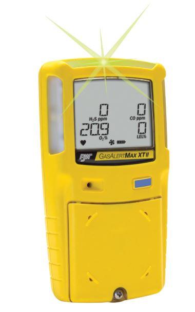 Honeywell BW Max XT II Gas Detector; 2 Gas Pump Version