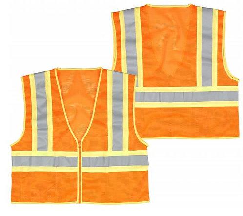 Seattle Glove Class 2 Orange Mesh Safety Vest; SVOR20IP