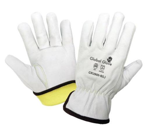 Global Glove Cut Resistant Grain Goatskin Gloves; CR3900