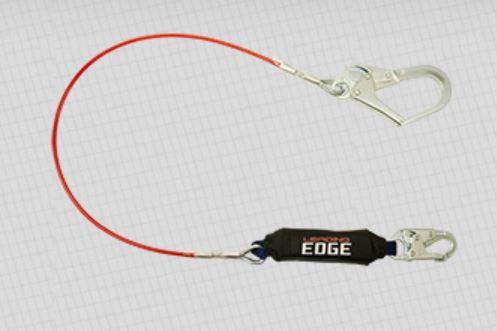 FallTech 6' Single Leg Leading Edge Cable Lanyard