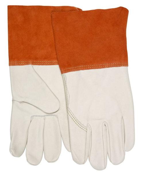 MCR Welding Leather Welding Work Gloves; 4950LB