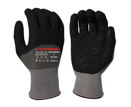 Armor Guys Kyorene® 15g Dotted Palm; MicroFoam Nitrile Coated Glove; 00-004