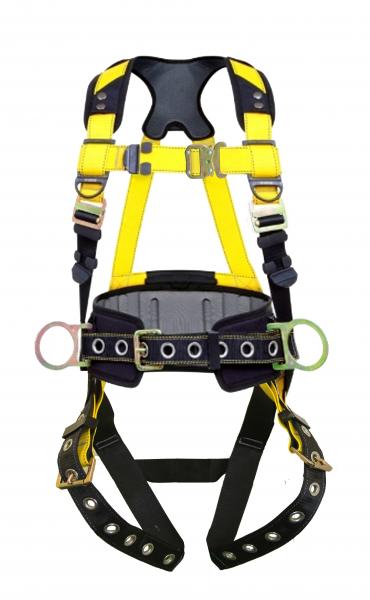 Guardian Series 3 Harness w/ Waist Pad; PT Chest & TB Leg