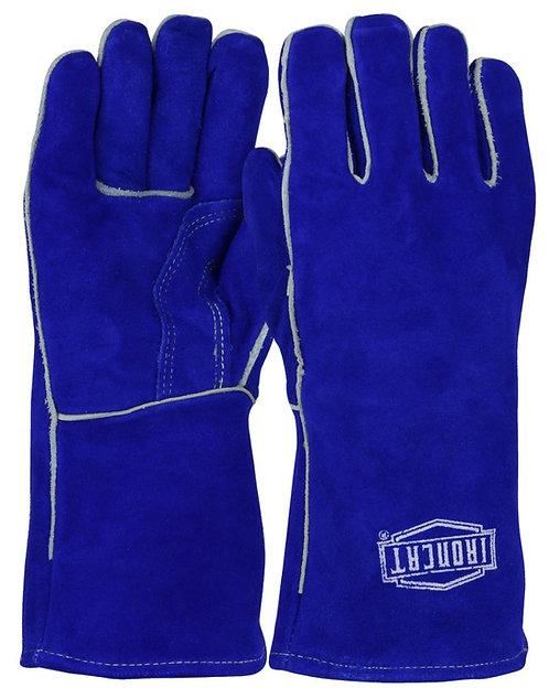 Ironcat® Shoulder Split Cowhide Leather Welder's Glove 9041