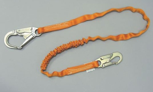 Miller Titan II Tublar Single Leg, Small Rebar Hook, Shock-Absorbing Lanyard