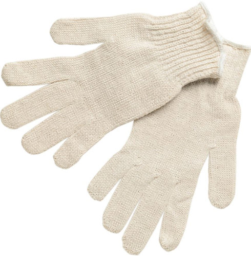 MCR Economy Weight String Knit Cotton Glove; 9638