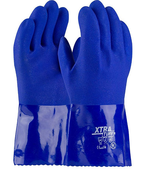 PIP XtraTuff Oil Resistant PVC Glove; 58-8656