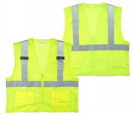 Seattle Glove Class 2 Safety Vest; SV220OP