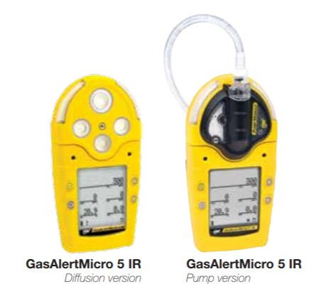 Honeywell BW Gas Alert Micro 5 Series Gas Detector; M5IR