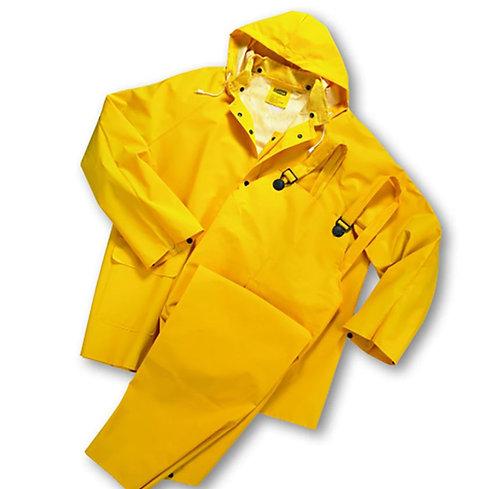 West Chester® Three-Piece Rainsuit - 0.35mm; 4035