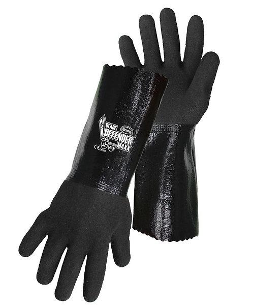 """Boss Blade Defender™ 12"""" Sandy Nitrile Blend Coated Glove; 1UH7015"""