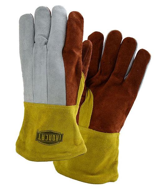 West Chester IronCat Premium Heavy Split Cowhide Foundry Glove; 2086GLF