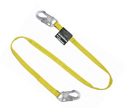 Miller 213 Series Restraint Lanyard w/ two locking snap hooks