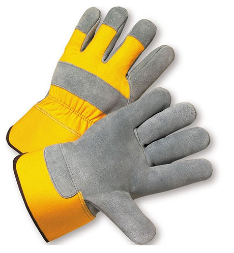 West Chester Premium Grade Shoulder Split Cowhide Leather Palm Glove; 500Y