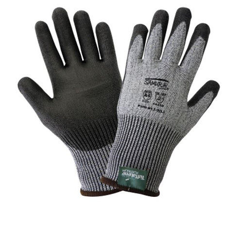 Global Glove Samurai Cut Resistant Gloves Made With Tuffalene Platinum; PUG-913